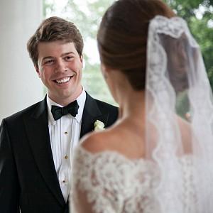 Wedding Photographer Charlotte First Look