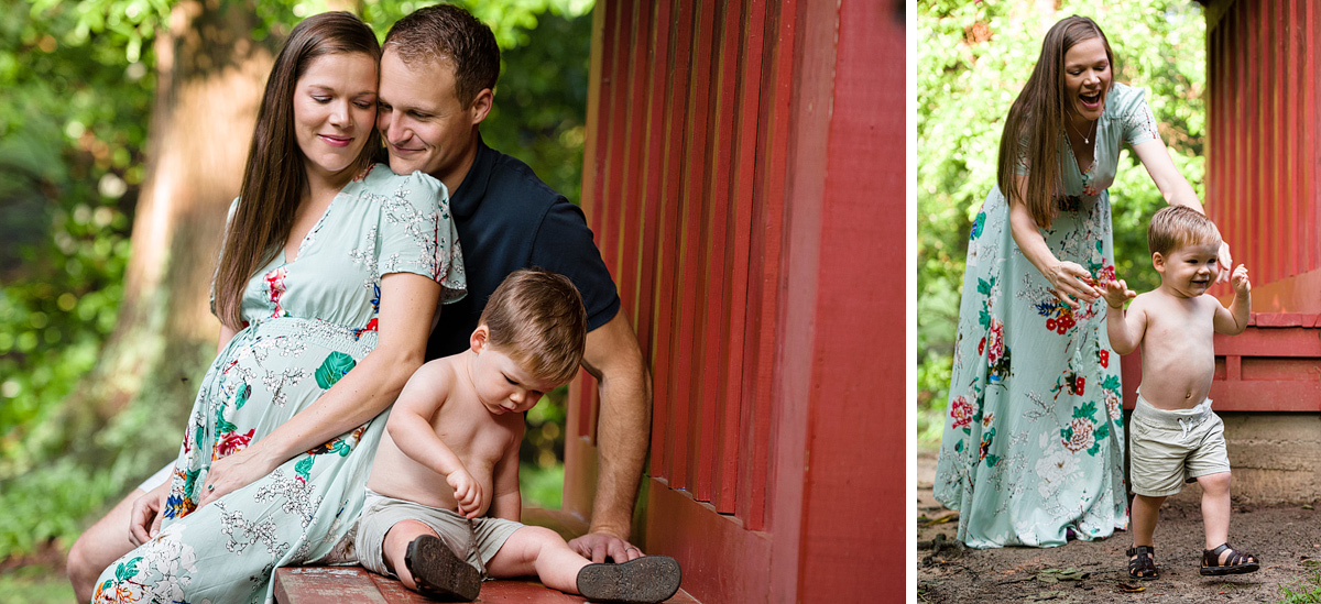 charlotte family photographer maternity portrait