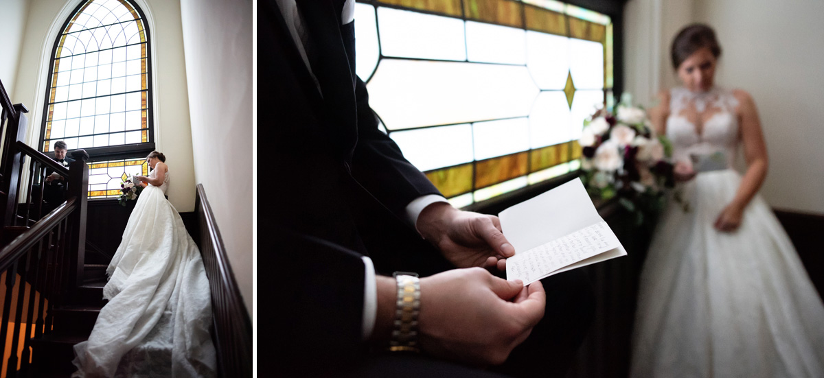 first presbyterian church charlotte bride and groom